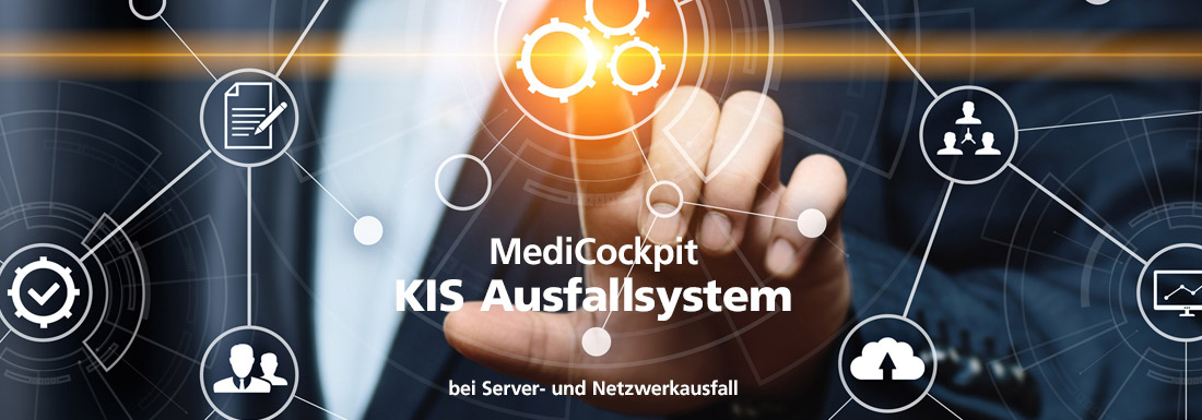MediCockpit KIS-Ausfallsystem